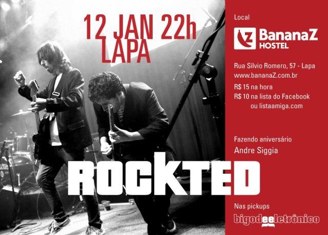 rockted 12 jan 2013