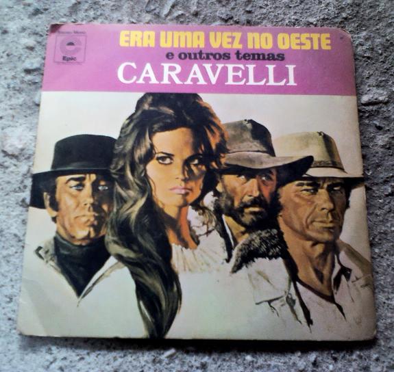disco com a canção tema do filme Era uma vez no Oeste